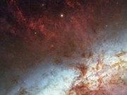 Panning on M82