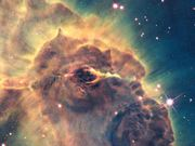 Zoom out of Carina Nebula