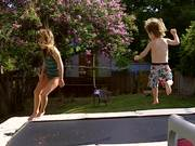 Kids On The Trampoline 2