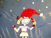 Animation Workshop Claire's Christmas Card
