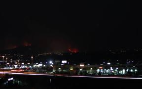 Washoe Drive Fire-Timelapse