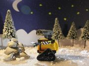 Wall-E and Eve's Christmas!