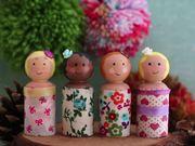 Peg Dolls for the Christmas Fair