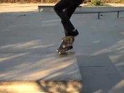 Very Talented Skateboarder
