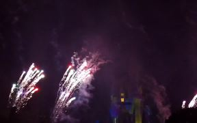 Mickey's Very Merry Christmas Party-Fireworks