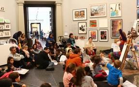 Tiz And Ott's Big Draw - Tate Britain