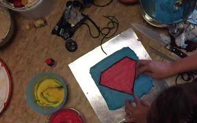 Superman Cake Decorating