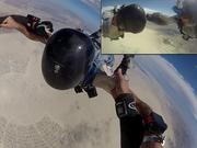 Burning Man . Jump Practice