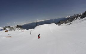 The Park - First Jump - Ski