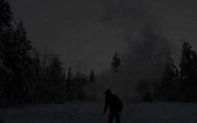 Freezing Fun in Finnish-Lapland