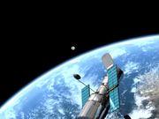 The NASA/ESA Telescope, the Earth and the Moon