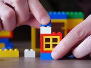 Playing with LEGO Parts, Bricks and Pieces