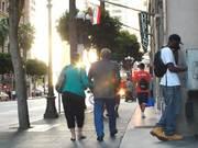 Fun People Walking