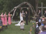 William & Laura's Beautiful Country Ceremony