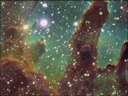 Zoom on the Eagle Nebula