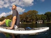 SUP Boarding In Winter Park, FL