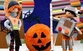 Foggy's Big Fright, a Halloween Story
