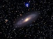 Zoom on the Andromeda Galaxy