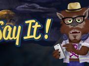Say It! App - Halloween Edition