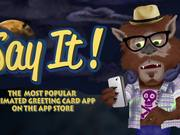 Say It! App - Halloween Edition
