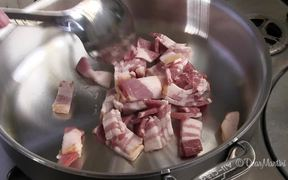 How To Saute Diced Bacon