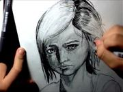 Ellie - The Last of Us - Fast Drawing