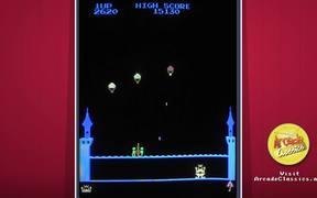 King & Balloon Arcade Game