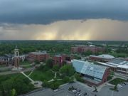 Amazing Tornado Over Ball State Campus