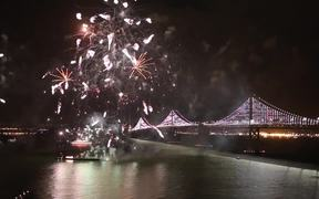 Fireworks for the San Francisco