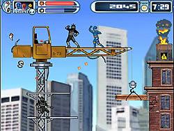 Power Rangers Dino Thunder Red Hot Rescue Jogo Jogue Online No