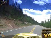 Historic Mustang Tackling Pikes Peak