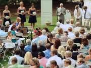 Alissa + Joshua: The Crooks Wedding Ceremony