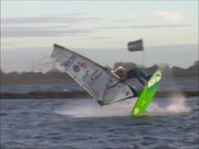Autumn Windsurfing Freestyle Indianstyle