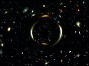 Gravitational Lens passing in front of Field North