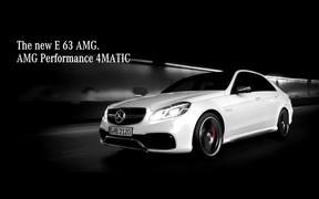 Mercedes Benz Commercial - The E 63 AMG