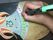Santa Muerte Skateboard Design