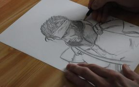 Speed Drawing - Solid Snake
