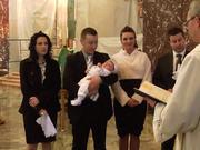 Brian Patrick Mroczkowski, Baptism