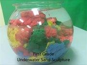 Underwater Sand Sculpture