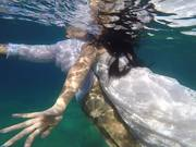 Ceren & Emrah Underwater Wedding
