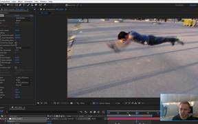 Slow Motion with Timewarp Effect in After Effects