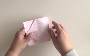Tutorial of the Origami for Scrapbooking