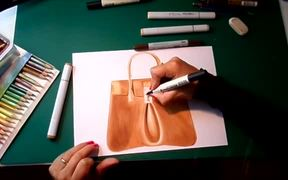 Fashion Illustration with Markers