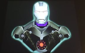 Projection Mapping - Ironman