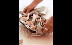 Video Recipe of Mini Blueberry Pie