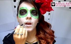 Makeup de Caveira Mexicana!