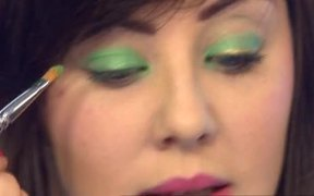 Face Art for St Patrick's Day