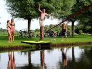 Waterlining with Slackline Leeuwarden