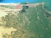Zoom on Alexandria, Egypt