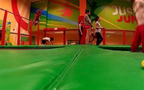 Training on a Trampoline